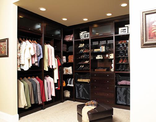Custom storage solutions mankato mn messner builders inc for Closet modernos para hombres